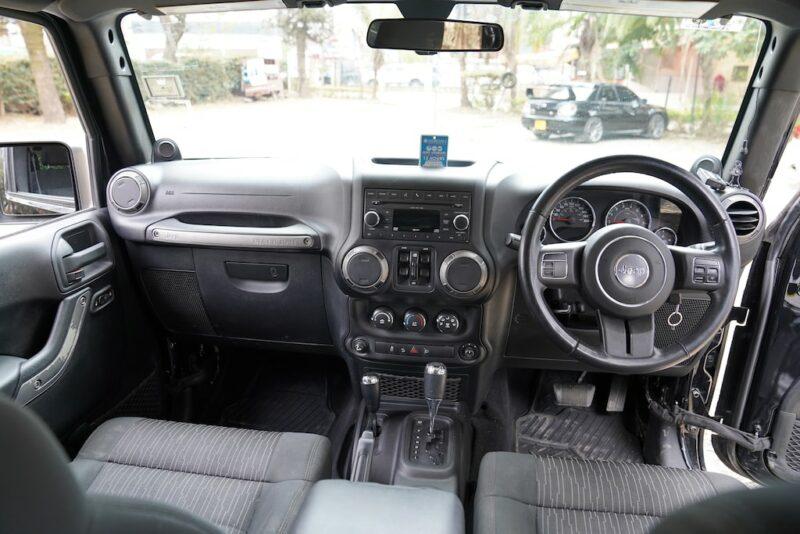 2014 Jeep Wrangler Dashboard
