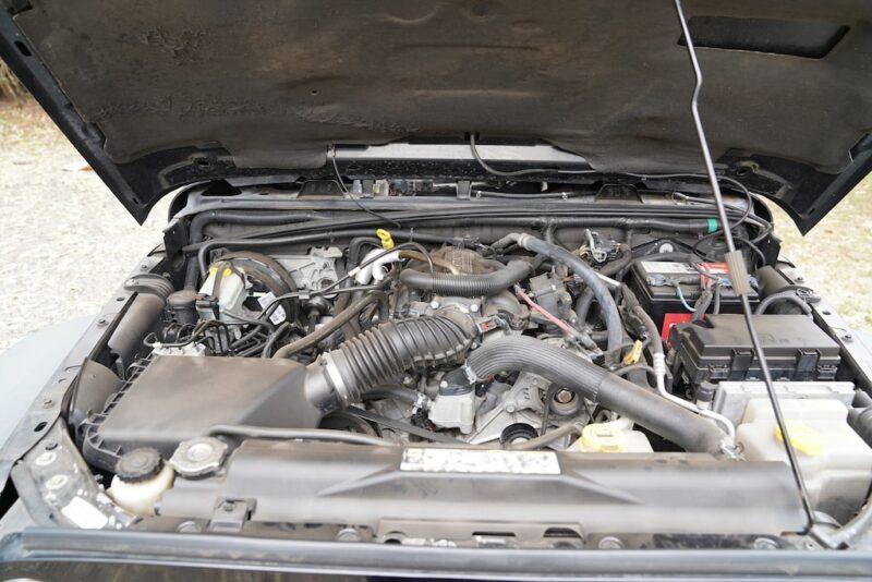 2014 Jeep Wrangler 3.6 Pentastar engine