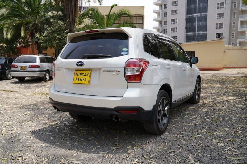2014 Subaru Forester rear