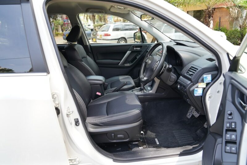 2014 Subaru Forester first row