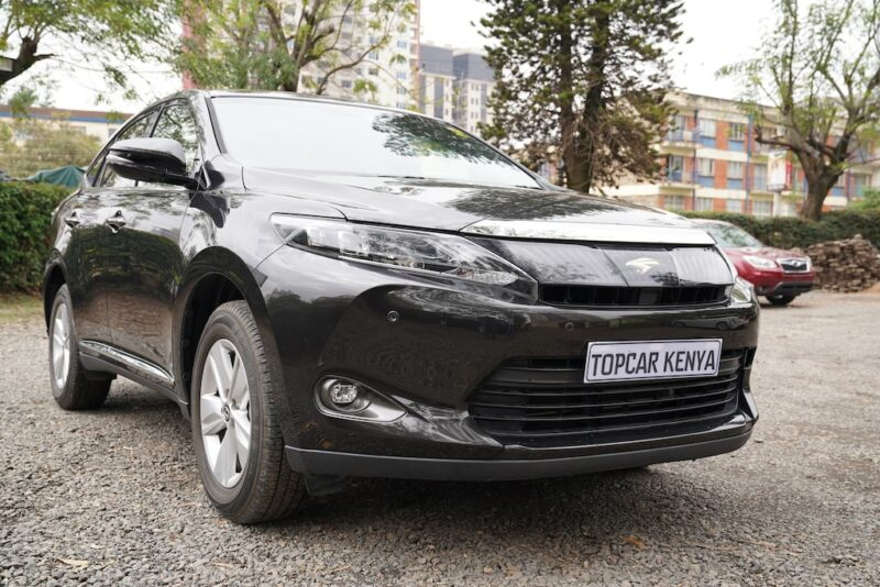 2014 Toyota Harrier Review
