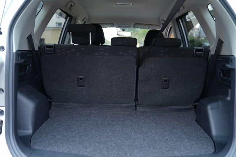 2014 Toyota Ractis Boot