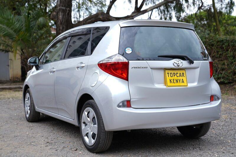 2014 Toyota Ractis Rear