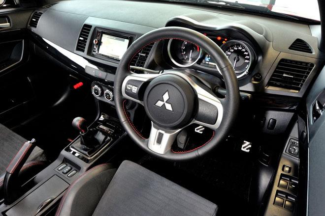 2016 Lancer Evo X Interior
