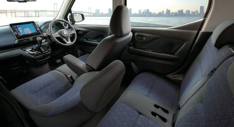 2020 Mitsubishi eK interior