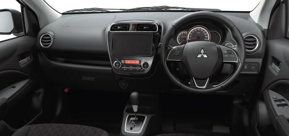 Mitsubishi Mirage Dashboard