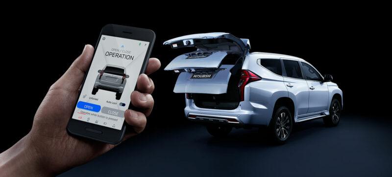 Pajero Sport Mobile App