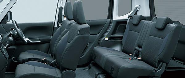 Mitsubishi Delica D2 interior space