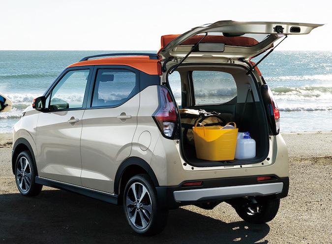 2020 Mitsubishi eK rear