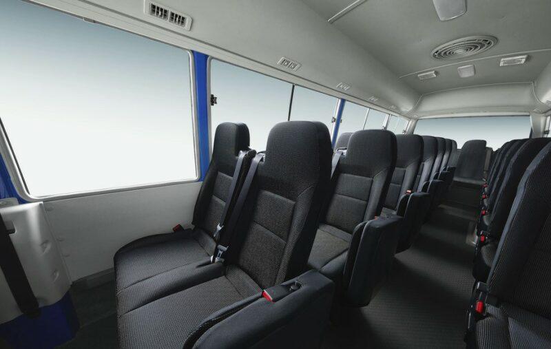 Mitsubishi Rosa Interior