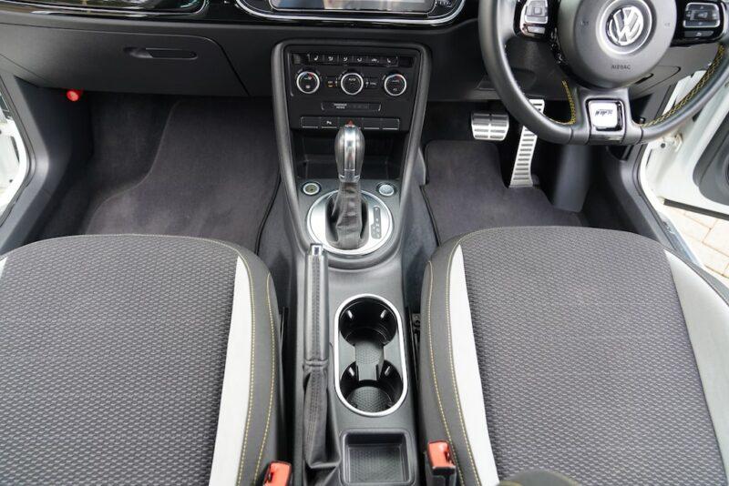2014 VW Beetle A5 cupholders