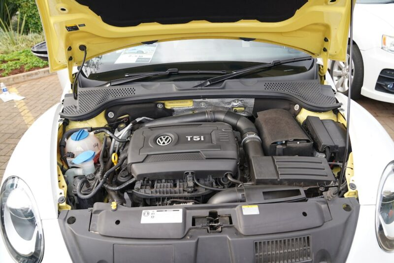 2014 VW Beetle TSI Engine