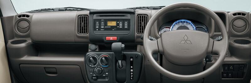 Mitsubishi Minicab Dashboard