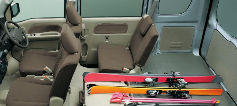 Mitsubishi Minicab Interior