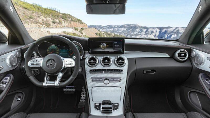 Mercedes AMG C43 Interior