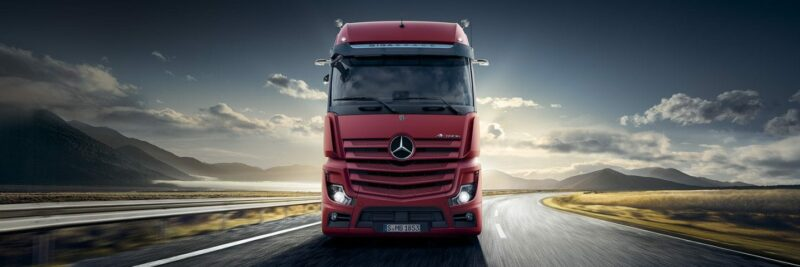 Mercedes Actros 2020 fourth generation