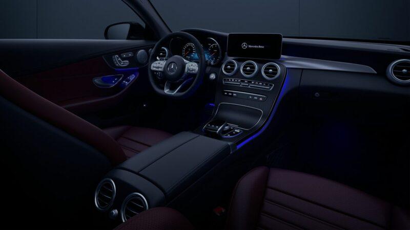 Mercedes C Coupe Dash