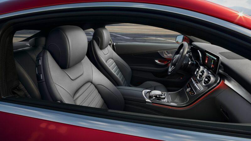 Mercedes C Coupe Interior