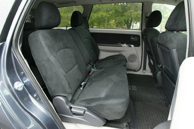 Mitsubishi Grandis Second Row Seating