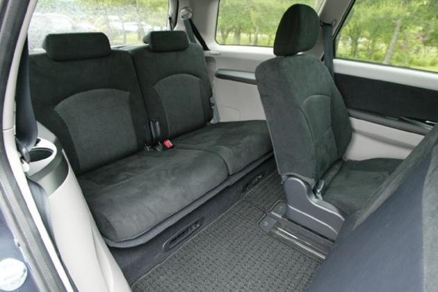 Mitsubishi Grandis Third Row