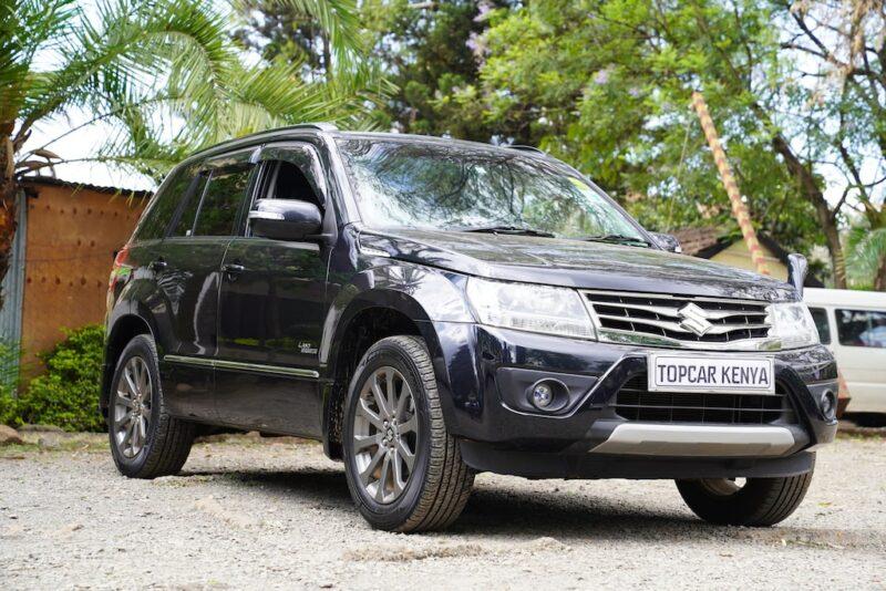 2014 Suzuki Escudo Review
