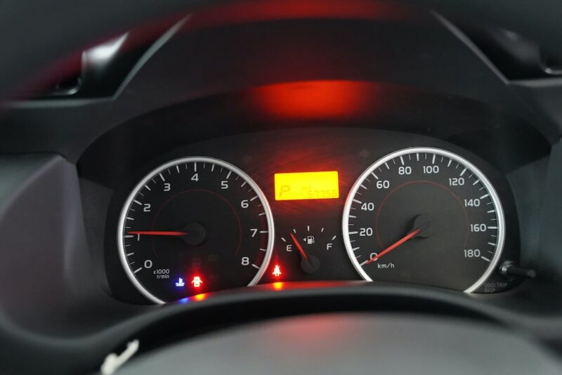 2014 Toyota Wish Speedometer Clock