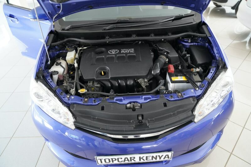 2014 Toyota Wish Engine