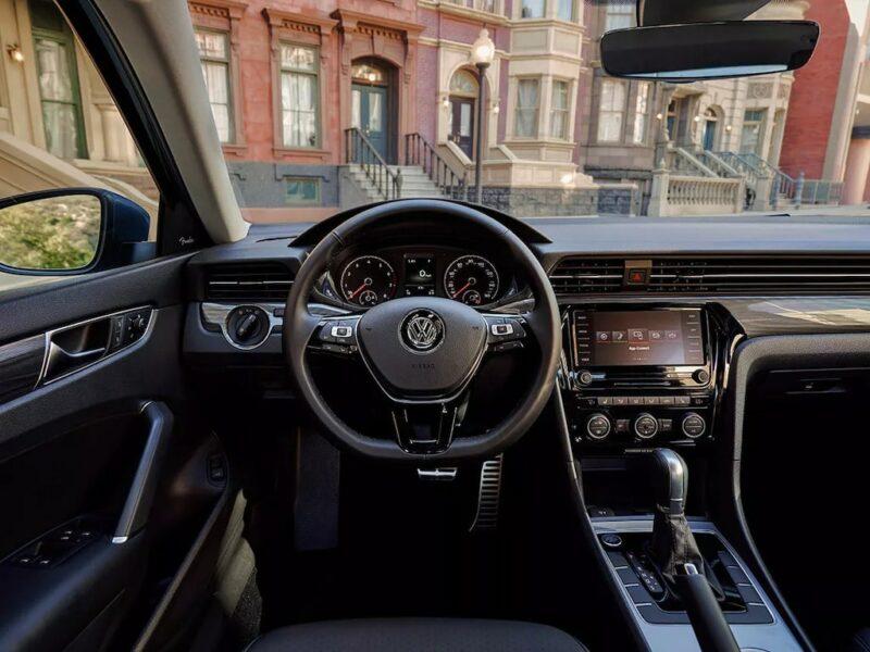 VW Passat Interior Dashboard