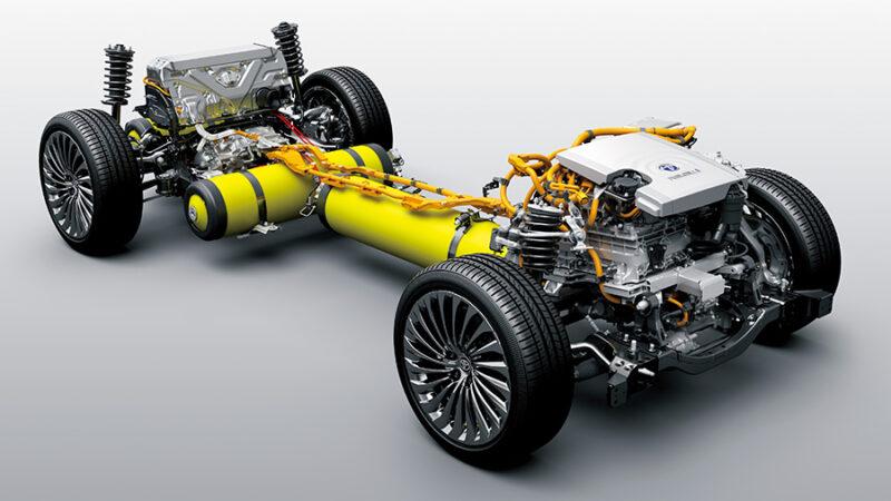 2020 Toyota Mirai Drivetrain