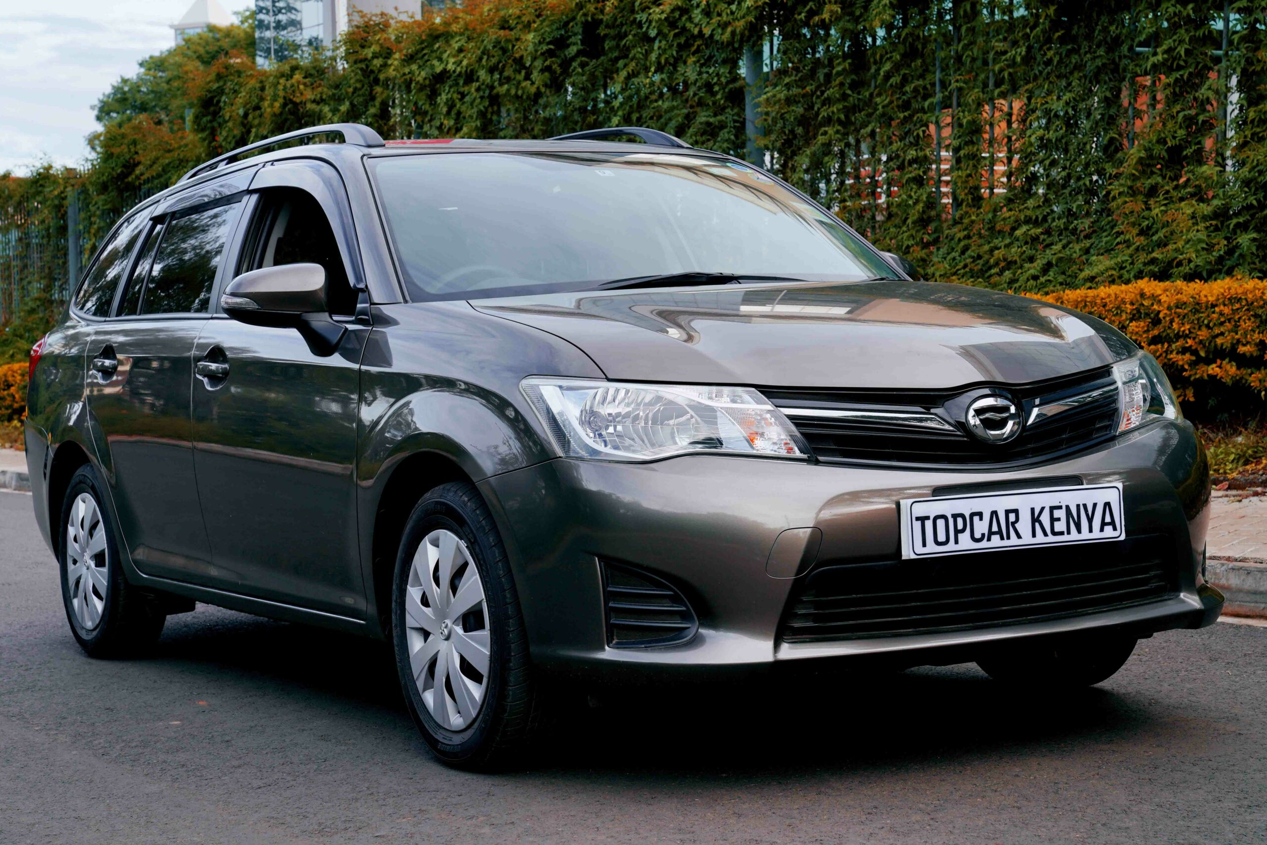 2014 Toyota Fielder Review