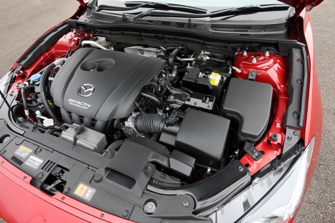 2014 Mazda Axela Engine